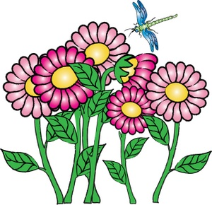 May Clip Art Flowers