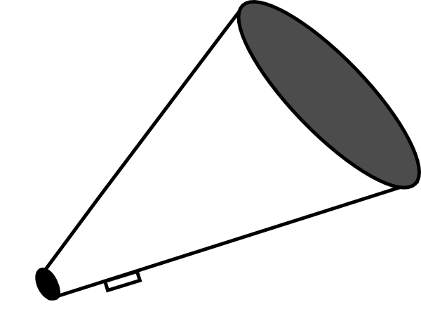 Megaphone Red Clipart Free Clip Art Images