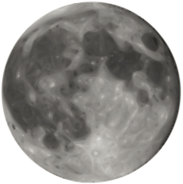 Moon Clipart Graphics Of Moons Lunar Phases Amp More