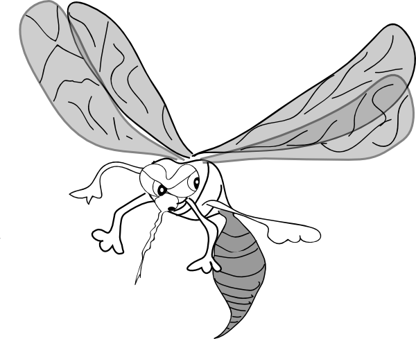 Mosquito Clip Art At Vector Clip Art Online Royalty