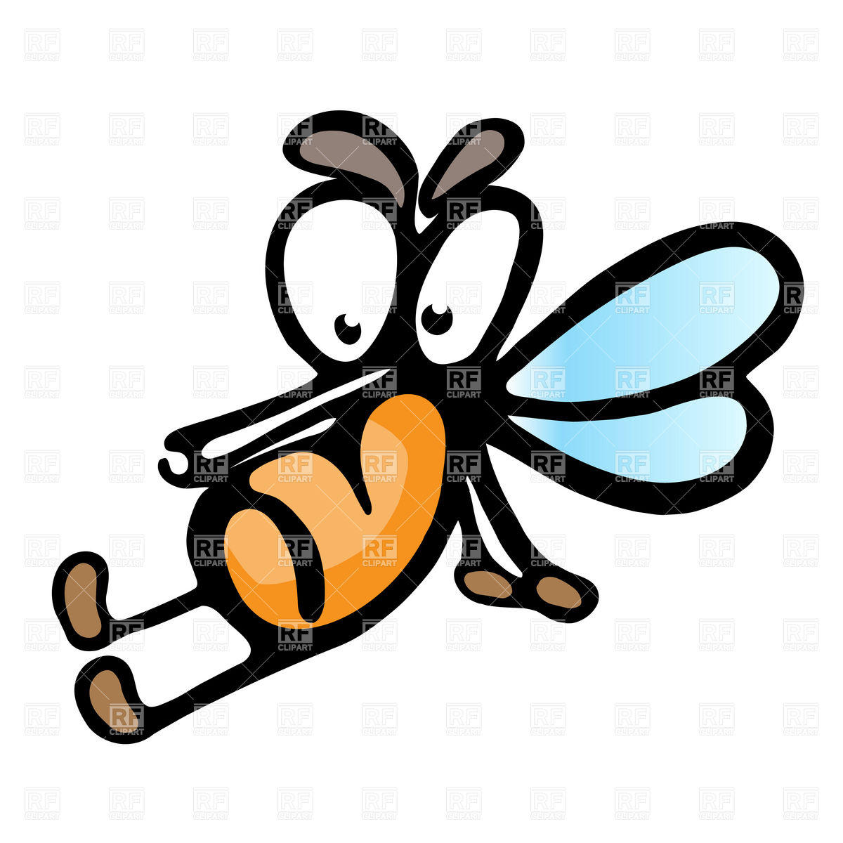 Mosquito Vector Clipart Free Clip Art Images