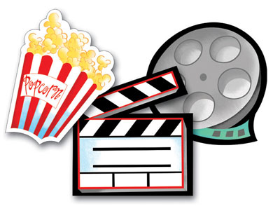 Movie Night At Home Clipart Images