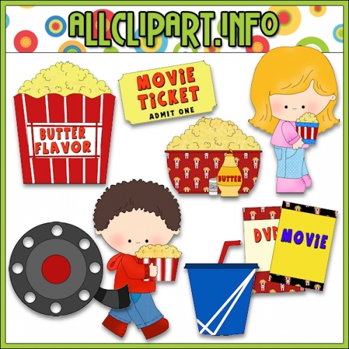clipart of movie night - photo #39