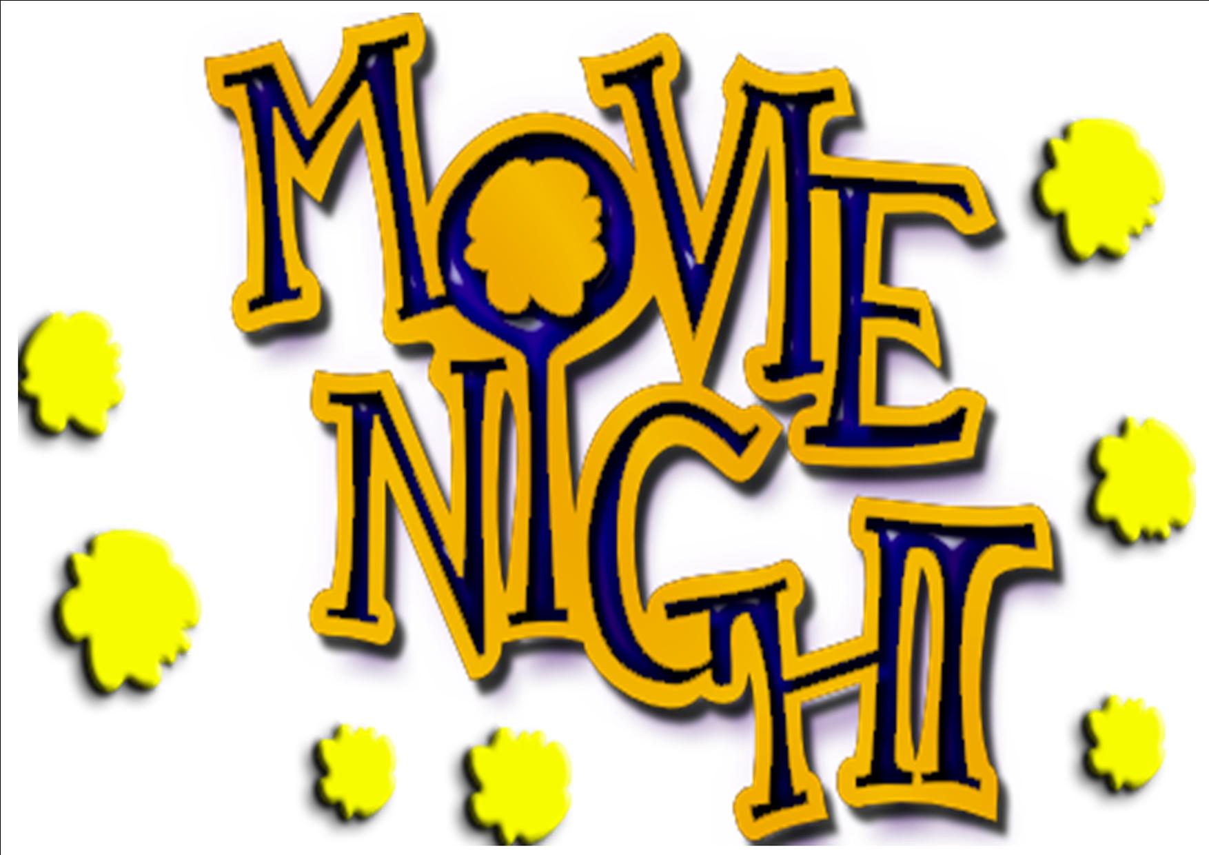 movie night clipart clipartion