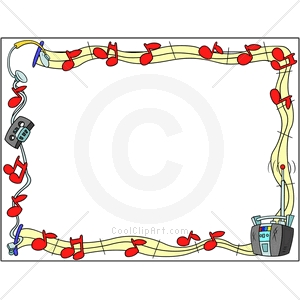 Music Notes Border Clip Art Free Clipart Free Clipart