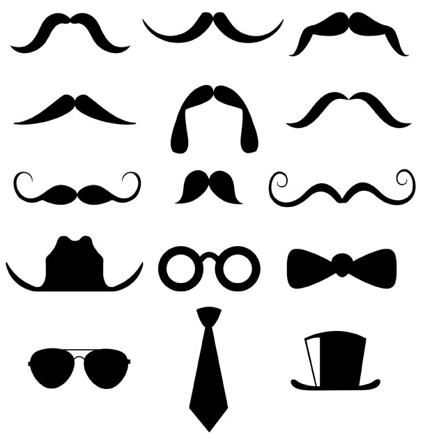 Mustache Clipart Personal And Commercial Usecutesyartshop