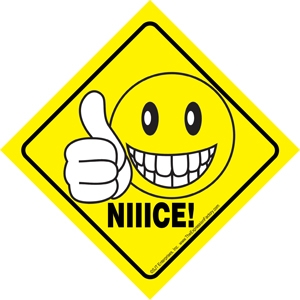 Niiice Smiley Face Giving A Quot Thumbs Up Quot Auto Attitudes Car