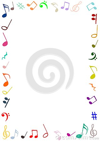 Old Grunge Paper And Music Note With Space Royalty Free Stock