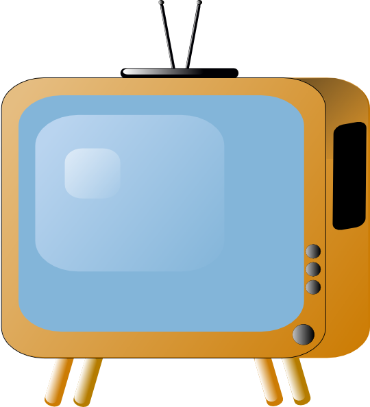 Old Styled Tv Set Clip Art At Vector Clip Art Online