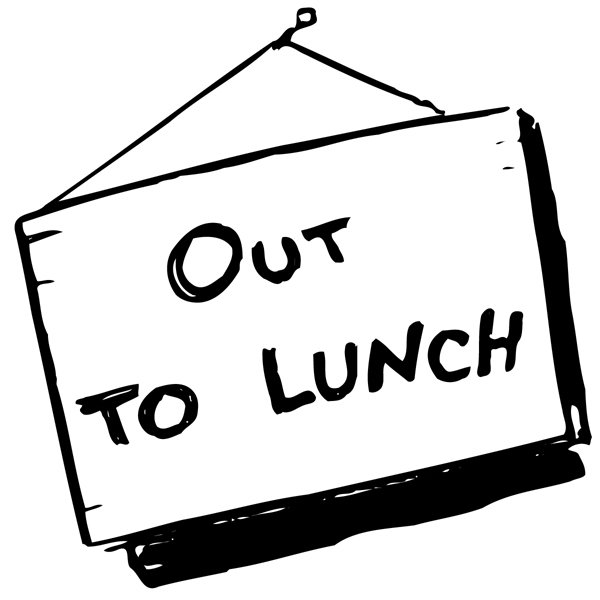 Out To Lunch Signs Printable Free Clipart Images