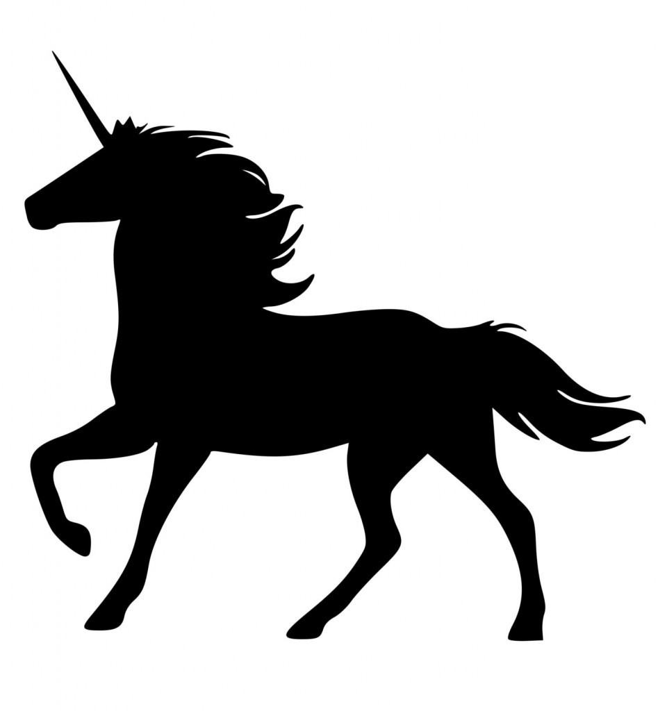 Unicorn Outline - Clipartion.com