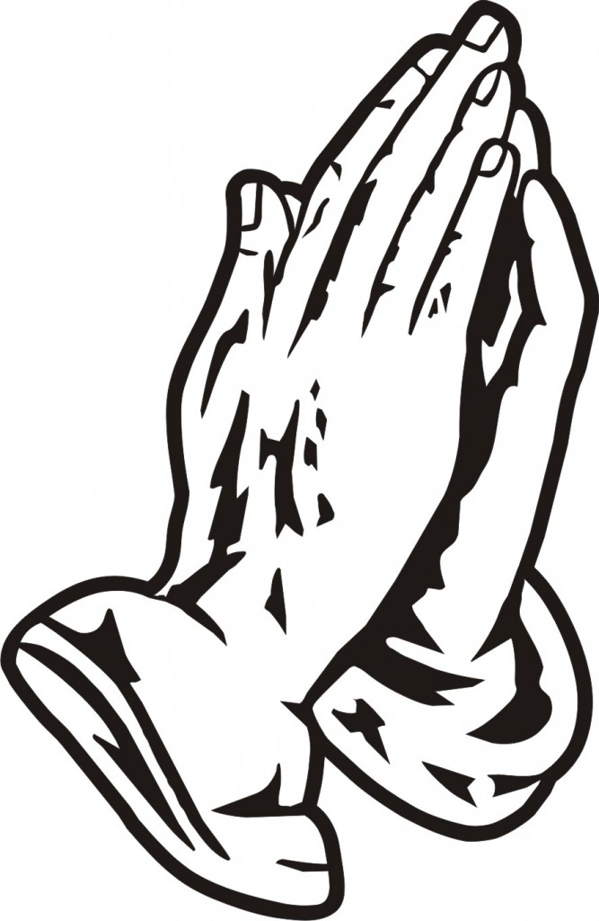Page 2 For Querysearch Results For Praying Hands Clipart Black And