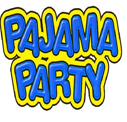 Pajama Party Clip Art