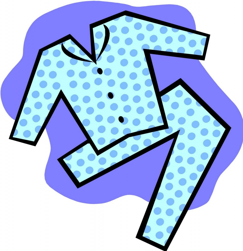 Pajamas Clip Art Free Free Clipart Images