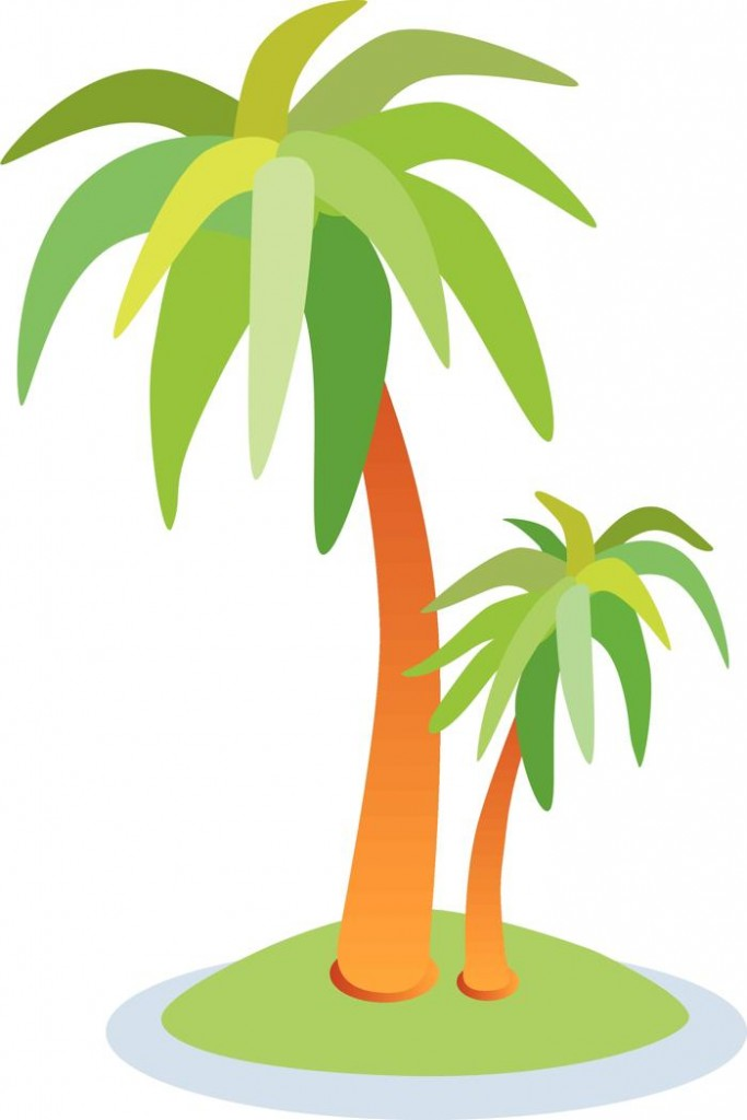 Palm Tree Clip Art 3