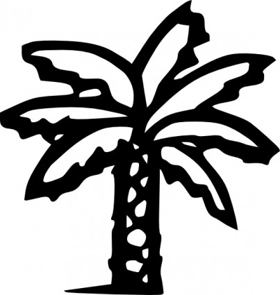 Palm Tree Clip Art Free Vector In Open Office Drawing