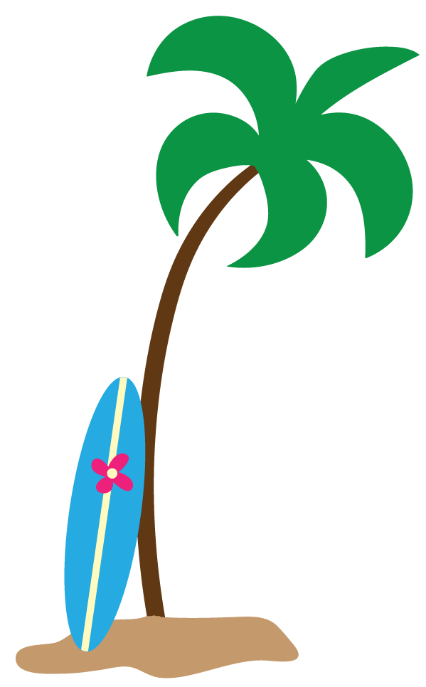 Palm Tree Clipart Black And White Free Clipart
