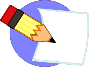 Paper With Writing Clipart Free Clipart Images