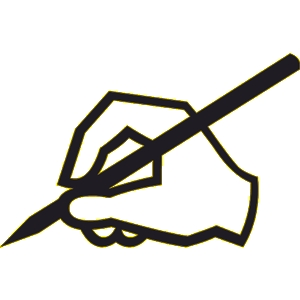 Pencil Writing Clip Art Clipart Free Clipart