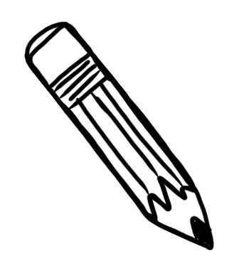 Free Clipart Pencil Clipart Black And White on eye