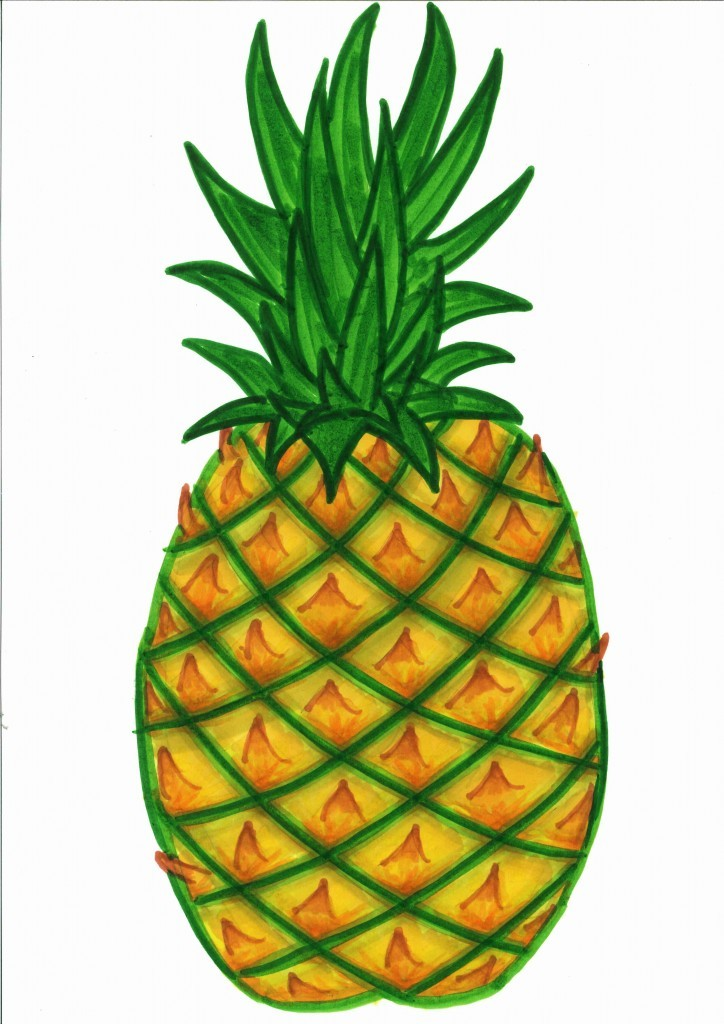 Pineapple Clip Art Free Free Clipart Images