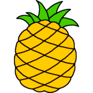 Pineapple Clipart Cliparts Of Pineapple Free Download Wmf Eps