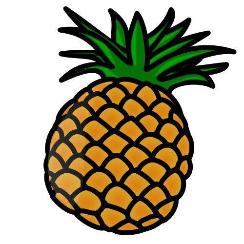 Pineapple Clipart Free Clipart Images