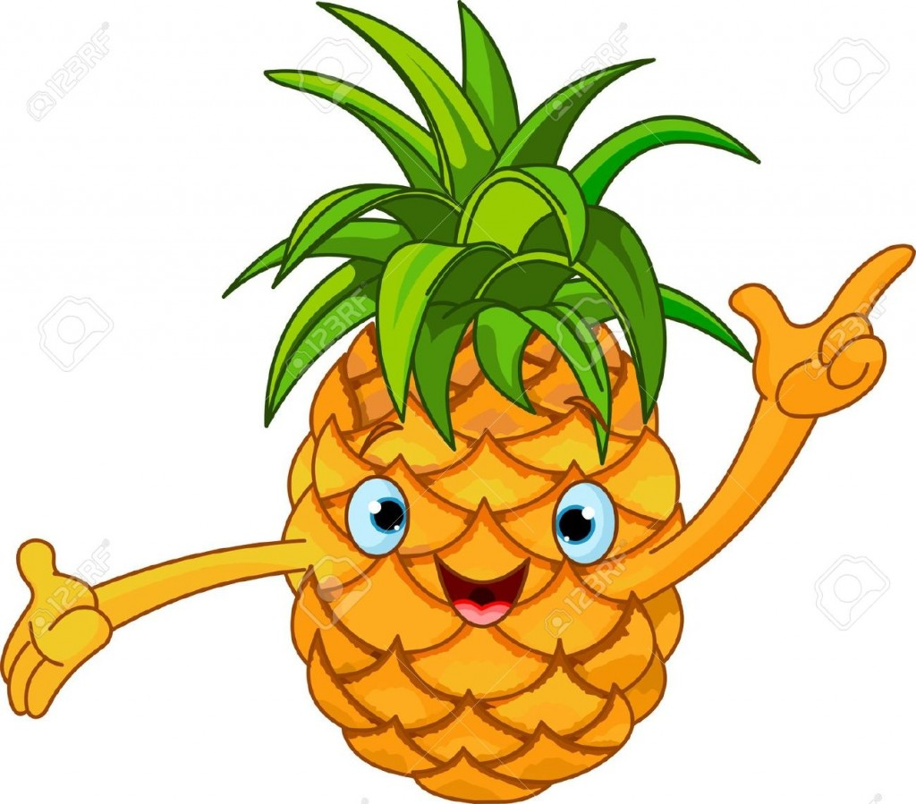 Pineapple Plant Clipart Images