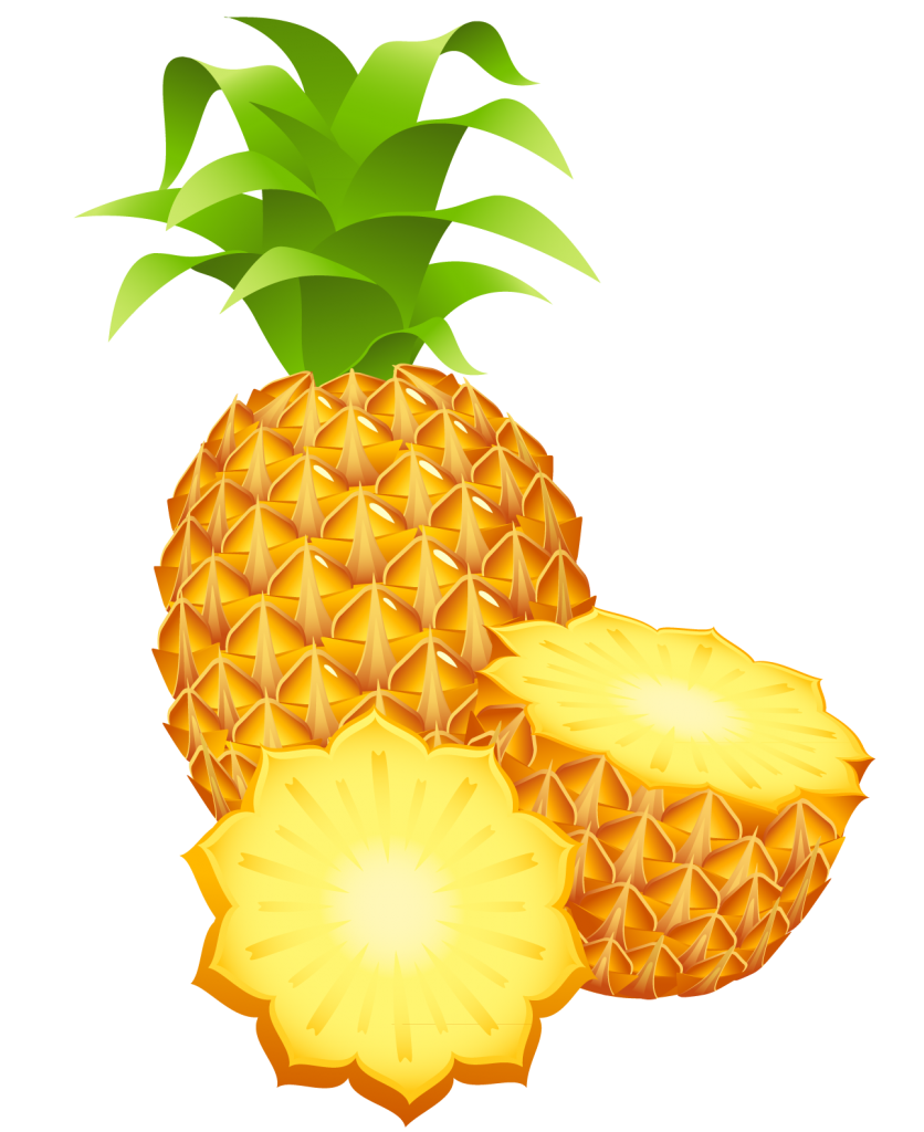 Pineapple Clipart Clipartion Com