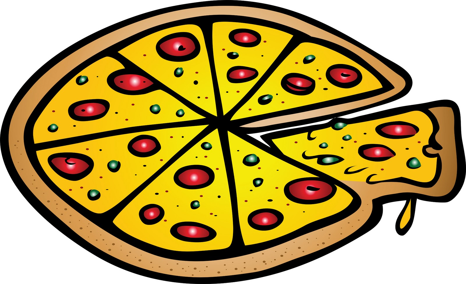 free pizza graphics clipart - photo #30