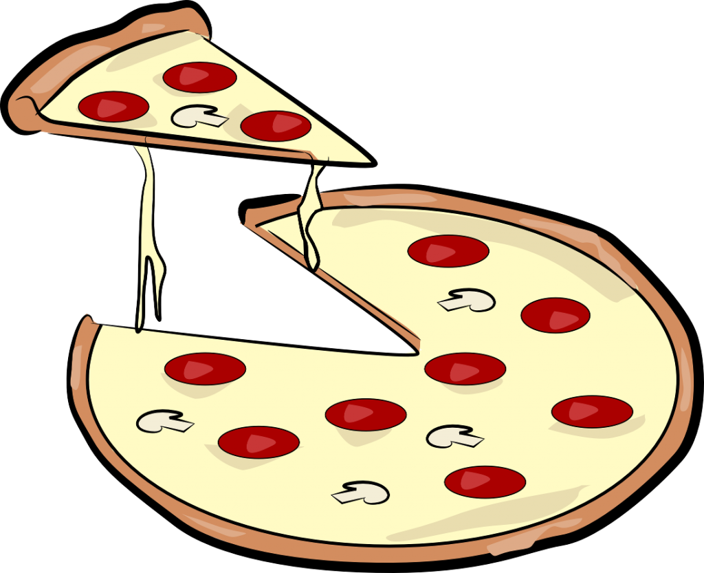 cheese pizza clipart free - photo #36