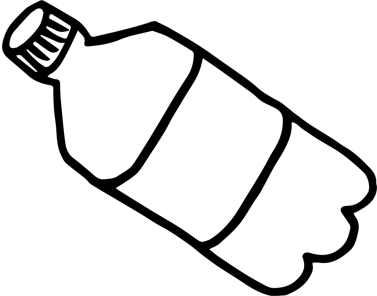 Best Water Bottle Clipart #3718 - Clipartion.com
