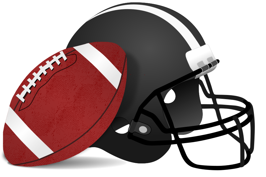 Playing Football Clipart