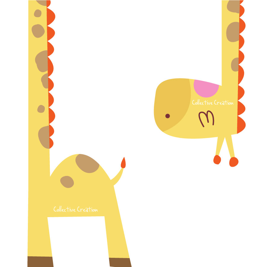 Popular Items For Cute Giraffe Clipart On Etsy