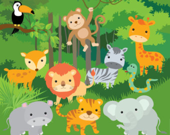 Popular Items For Tiger Clipart On Etsy