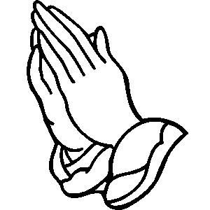 Praying Hands Clipart Bible Free Clipart Images