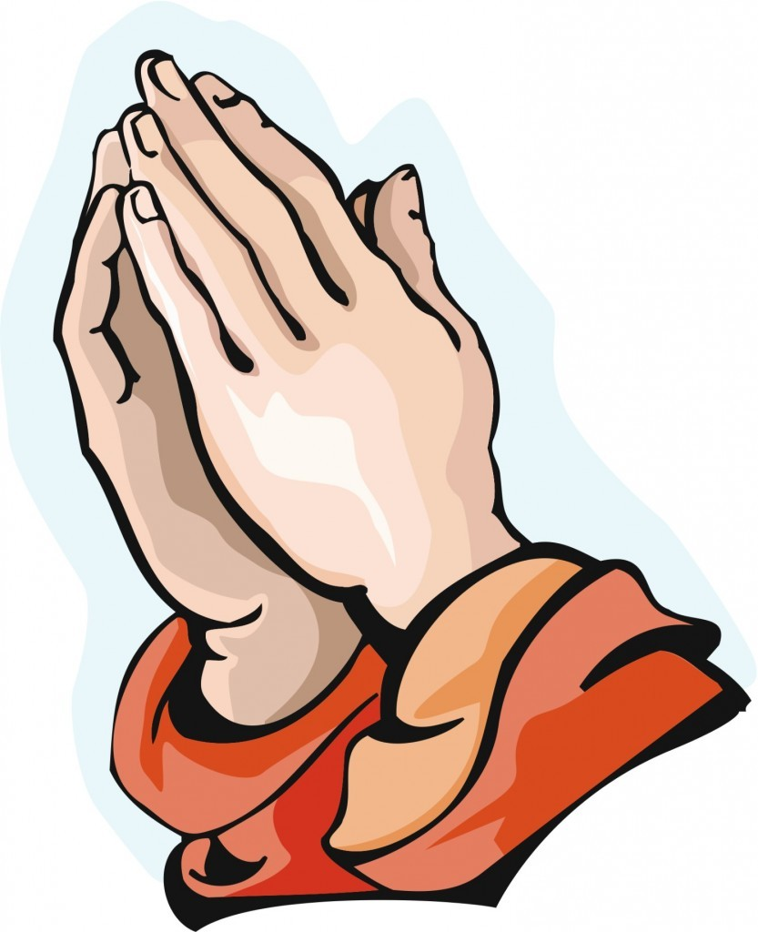 Praying Hands With Bible Clipart Gallery
