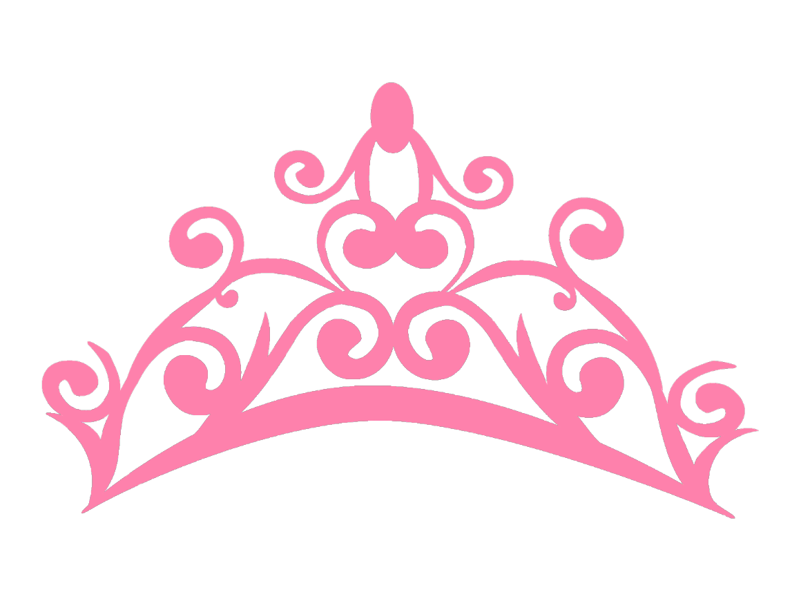 Princess Tiara Crowns And Silhouette Vector Illustration Clipart