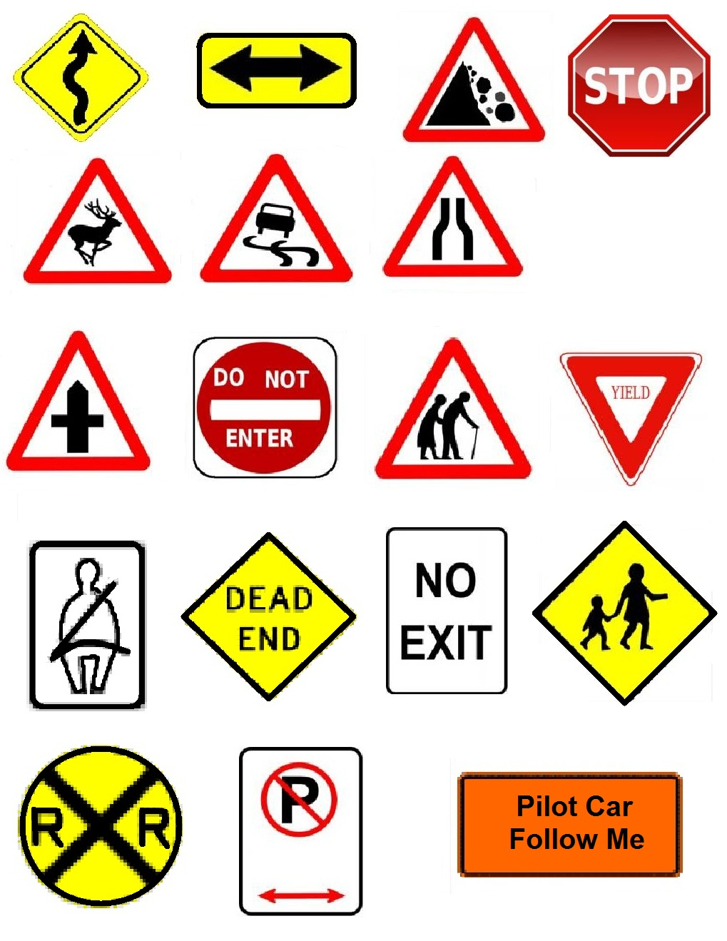 Printable Stop Sign Clip Art Clipart Free Clipart