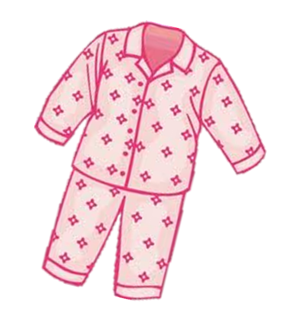 Put On Pajamas Clipart