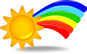 Rainbow Clip Art Layout Free Clipart Images