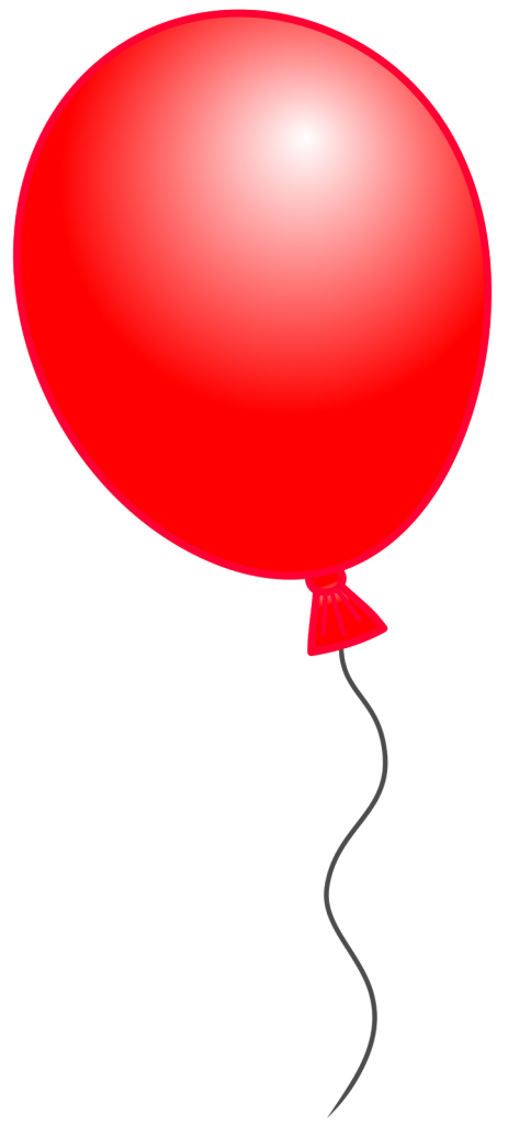 Red Balloon Clip Art