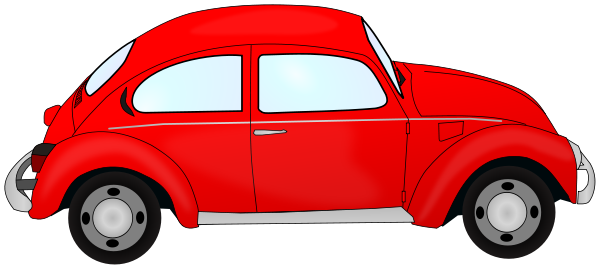 Red Car Top View Clipart Free Clip Art Images