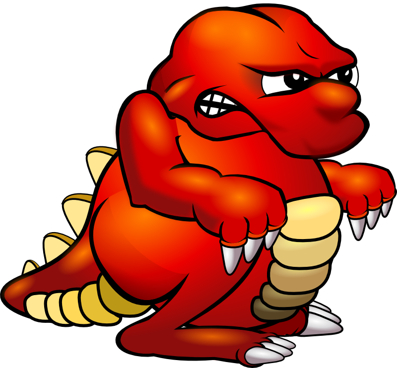 Red Monster Clipart Free Clipart Images