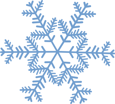 Red Snowflake Clip Art Transparent 9 Png