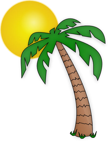 Related To Palm Tree Images Cat Clipart Free Clip Art Images
