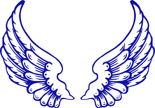 Running Wings Clip Art At Vector Clip Art Online