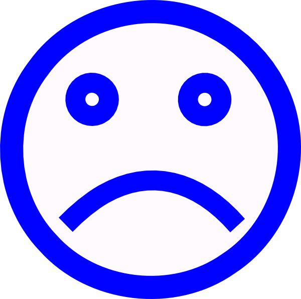 Sad Faces Clip Art Black And White Images