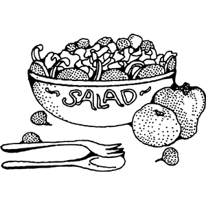 Salad Clipart Cliparts Of Salad Free Download Wmf Eps Emf