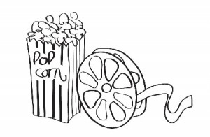 School Movie Night Students Clipart Free Clip Art Images